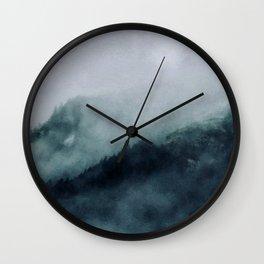 Mountain Time Wall Clock