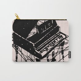 Piano in pink Carry-All Pouch