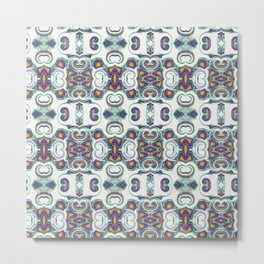 Colorful Art Pattern Metal Print