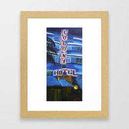 Colony Hotel Framed Art Print