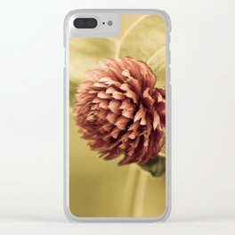 sane promise Clear iPhone Case