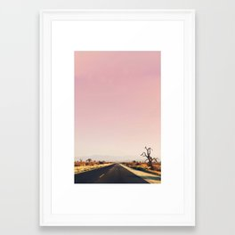 southwestern desert photo Framed Art Print