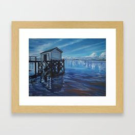 Omaha Wharf Framed Art Print