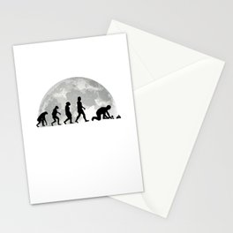 Paver Evolution Moon Stone Setter Gift Stationery Cards