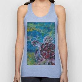 Sea Turtle Dream Unisex Tank Top