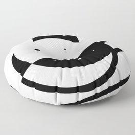 Self-Care Queen - Black Floor Pillow