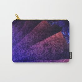 Pleated fantasy forest Carry-All Pouch