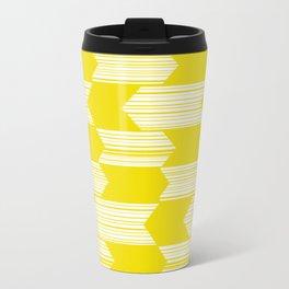 Yellow  Boho Arrows Travel Mug