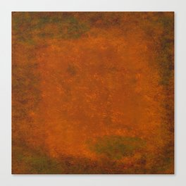 Weathered Copper Texture Canvas Print