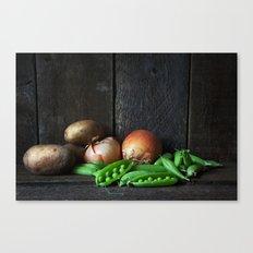 Vegetable Still Life. Canvas Print