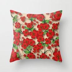 Shabby flowers #17 Throw Pillow