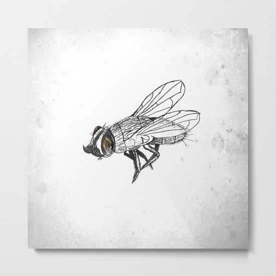 French Fly Metal Print