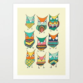Give a hoot Art Print