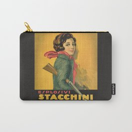 The Explosive Girl - 1929 Carry-All Pouch