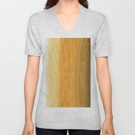 Colored Brush without Gold Foil 08 Unisex V-Neck
