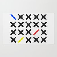 minimalism Area & Throw Rugs featuring Minimalism 3 by Mareike Böhmer