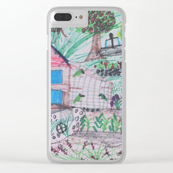 Place of Love, loving the nature - Handmade from Pascal   (A7 B0238) Clear iPhone Case