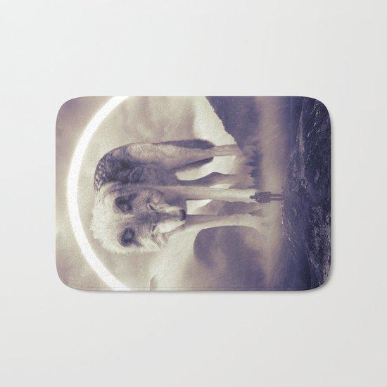aegis II | wolf Bath Mat