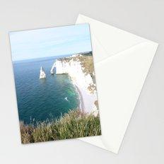 Cliffs at Etretat Stationery Cards