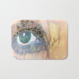 Riveted Eyes Bath Mat