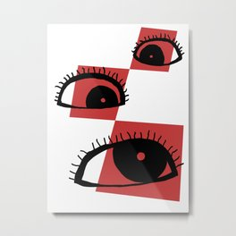 Silly Privileges Metal Print