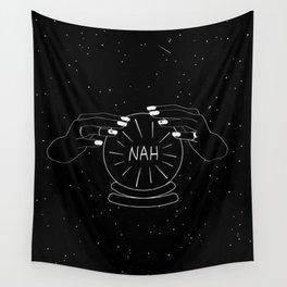 Nah future - crystal ball Wall Tapestry
