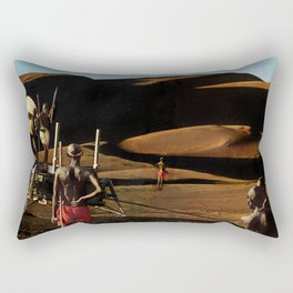The gods must be crazy | Collage Rectangular Pillow