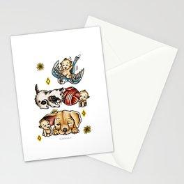 Kewpies & Baby Animals Flash  Stationery Cards