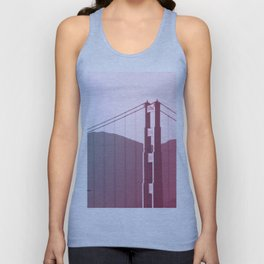 Golden Gate Dreams in San Francisco Unisex Tank Top