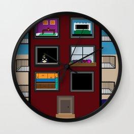 Always watching Wall Clock