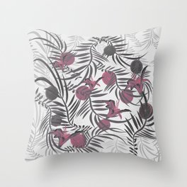 Plants Flowers and Your Light Fruit Throw Pillow