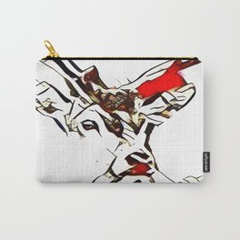 Deer Abstract Carry-All Pouch