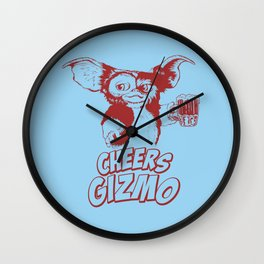 Cheers Gizmo Wall Clock