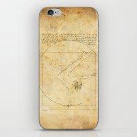 da vinci iPhone & iPod Skins featuring Break-Da (vinci) nce by boonheilig