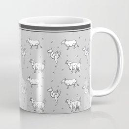 Mutants animals pattern Coffee Mug