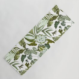 Wild botany in the jungle Yoga Mat