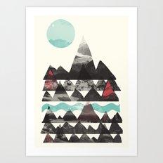 Ascend... Art Print