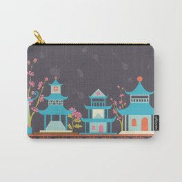 Chinoiserie border Carry-All Pouch