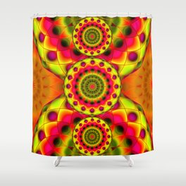 Psychedelic Visions G144 Shower Curtain