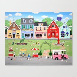 Doggie Heaven Canvas Print