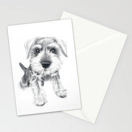 Schnozz the Schnauzer Stationery Cards