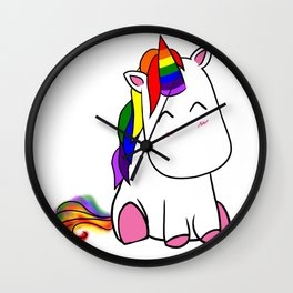 Lenny the Unicorn Wall Clock
