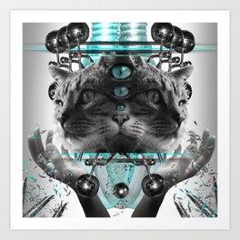Cattus Art Print