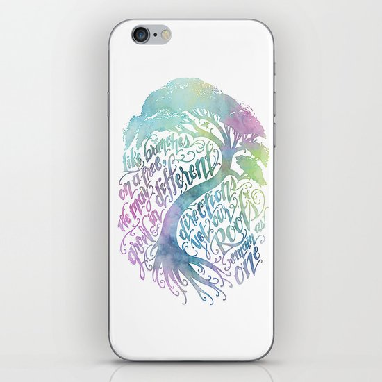 Our Roots Remain As One iPhone & iPod Skin