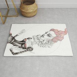 JennyMannoArt GRAPHITE DRAWING/Gretchen Rug