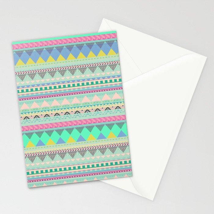 PASTEL AZTEC Stationery Cards