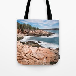 Acadia National Park - Thunder Hole Tote Bag