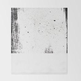 white space Throw Blanket