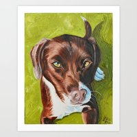 jasmine Art Prints featuring Jasmine by Lindsay Larremore Craige