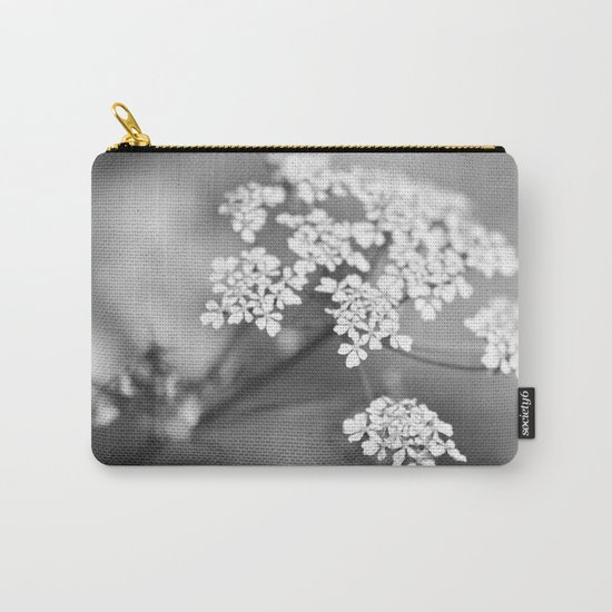 White flower for Valentine's day II Carry-All Pouch